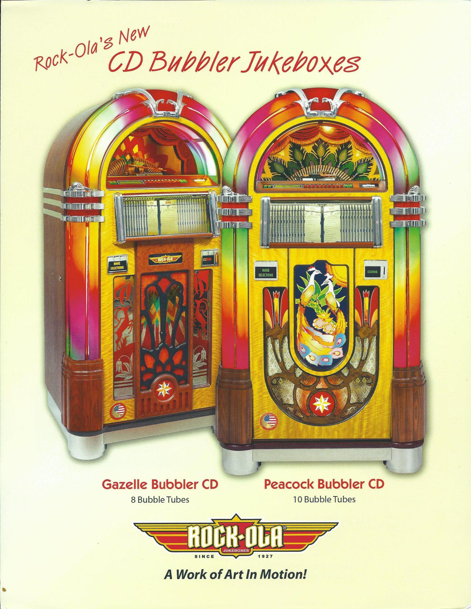 Rockola Cd Jukebox Parts