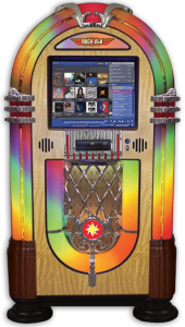 Digital Rock-Ola-Nostalgic Bubbler-Jukebox-Touchscreen