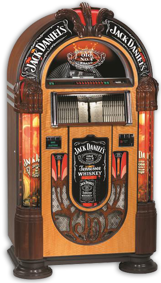 Rock-Ola Jukebox Jack Daniels 100 CD