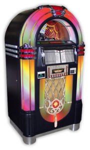 Rock-Ola Jukebox CD Bubbler Black